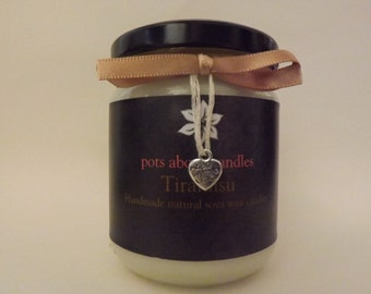 Tiramisu Scented Soya Wax Candle
