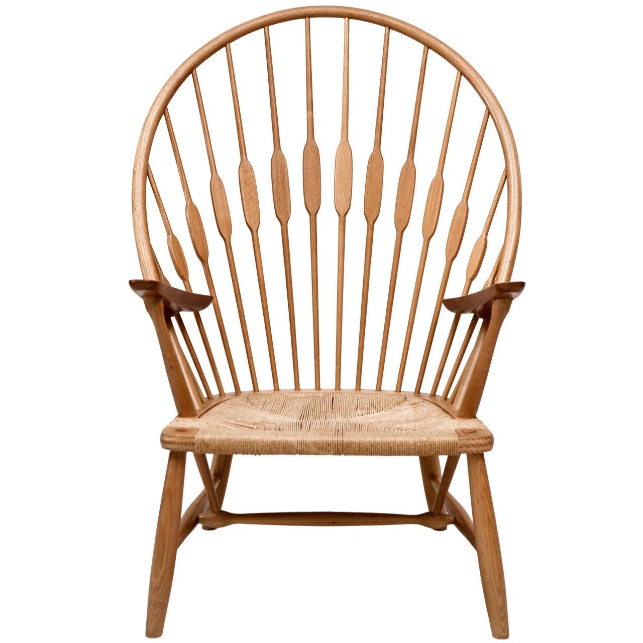 peacock chair by hans wegner. Black Bedroom Furniture Sets. Home Design Ideas