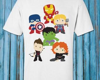Short Sleeve Bodysuit Superhero Short Sleeve Shirt or Bodysuit for Baby and Toddler Baby Shower Gift Toddler T Shirt