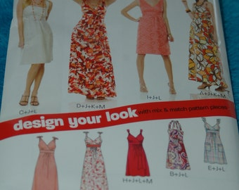 New Look #6774 - Summer Dresses Sewing patterns - Size 10-22