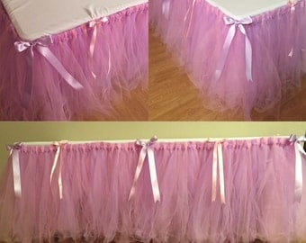 Tulle Tutu Table Skirt