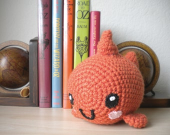 Crochet Fish Stuffed Animal