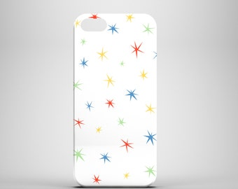 Colourful Stars iPhone 6 case / cute iPhone 6  case / bright iPhone 6 case / graphic iPhone 6 case / FREE UK SHIPPING