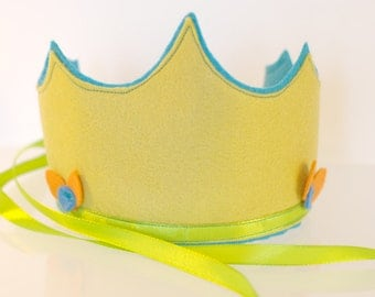 Waldorf 100% Wool Felt Crown