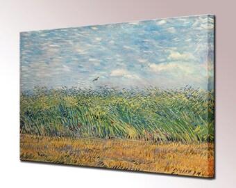 Van Gogh Wheat Field with Lark Wall Decor Canvas Print Home Decor Wall Art Print Ready To Hang