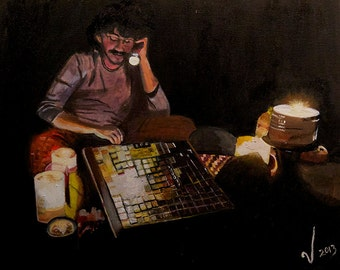 Lights Out - Limited Edition Giclee Print