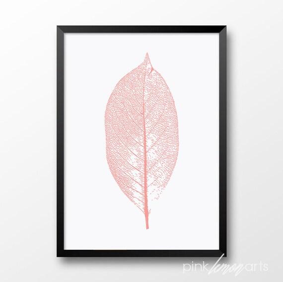 Berühmt Rose corail imprimer feuille imprimable décoration UJ66