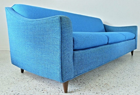 RESERVED For Melanie GALAXY Sofa Midcentury 1960s By