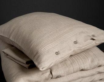 Linen Pillow case, Linen Bedding, Linen Pillow case, Organic Linen Pillow case