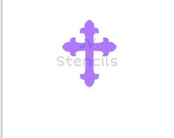 Large Cross Stencil