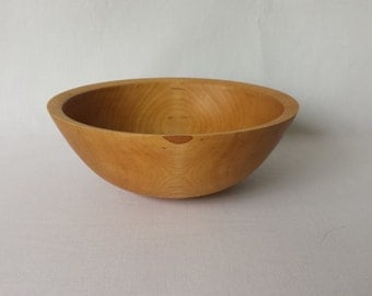"7.5"" White Birch Serving Bowl"