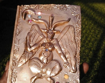 baphomet custom journal