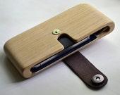 Wooden cash big wallet. Oak. Big and classy.