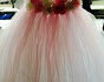 Flower girl dress ~ custom made