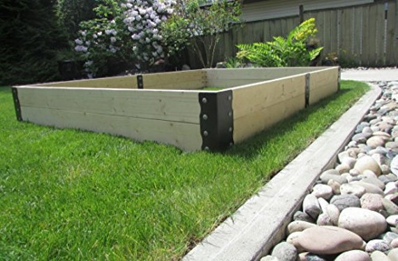 Raised Garden Bed Kit, Extra Heavy Duty Bolted, Garden Bed Corners, Garden  Bracket Kit, Garden Frame, Community Garden, Vegetable Planter