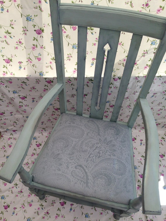 1930's painted chair