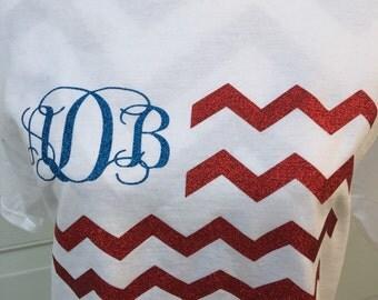 Chevron Flag Shirt