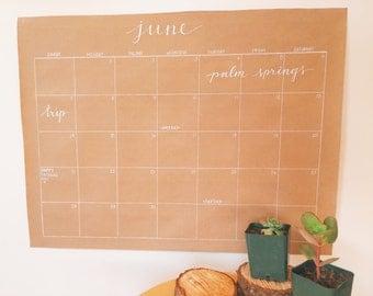 Wall Calendar 2015-2016