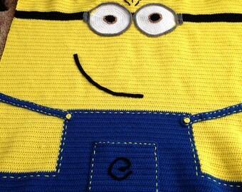 Crochet Minion Baby Blanket Pattern