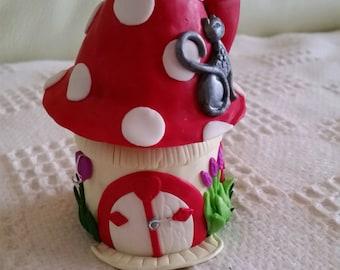 Fairy house/tooth fairy house/storage jar