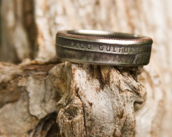 Chaco Culture Coin Ring