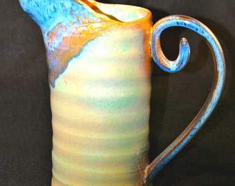 Mint Ceramic Pitcher/Vase