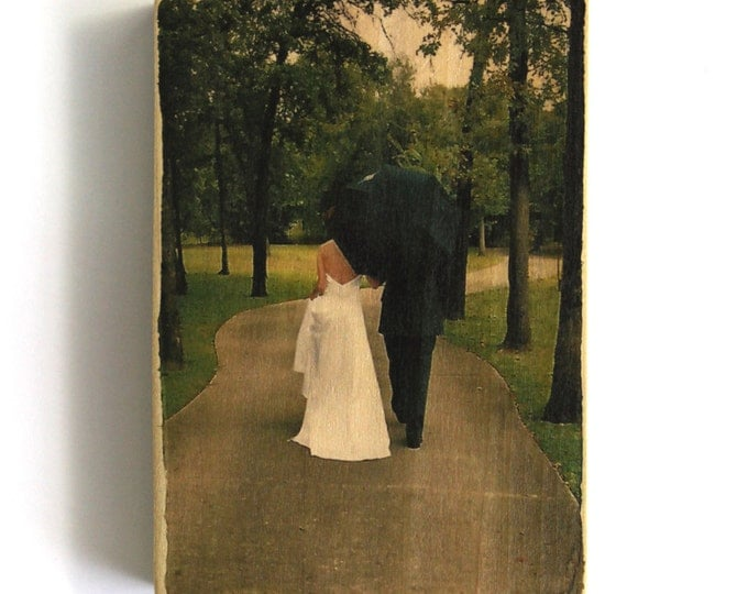 5 x 7 Inch Wood Photo Panel - Your Photos on Wood!
