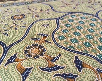 Batik, Garden Green