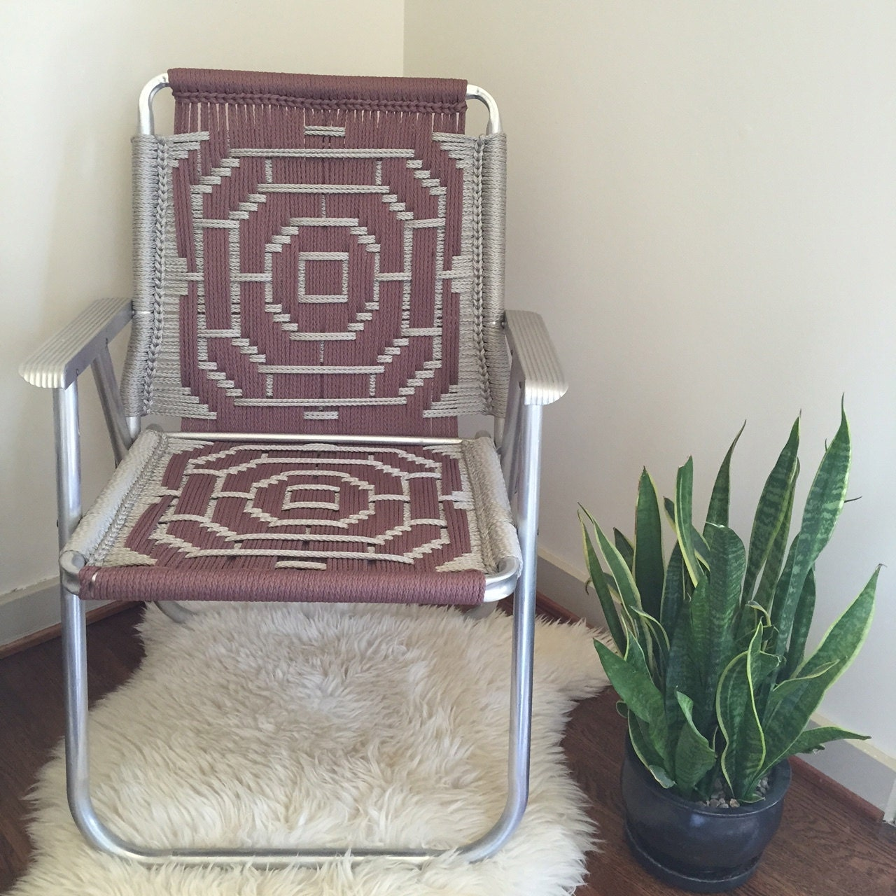 Sold Macrame Chair By Virare On Etsy