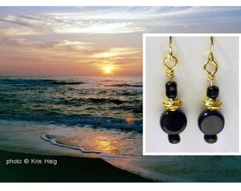 Black Dawn earrings