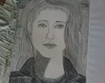 Portrait of woman in black jacket