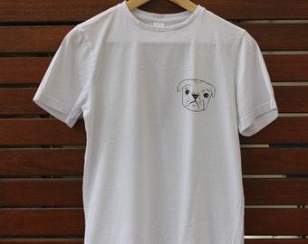 Painted Pug T-shirt