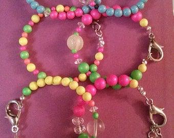 Swarovski Neon Pearl Bracelets/Swarovski Pearl Bracelets/Swarovski Neon Pearls Bracelets