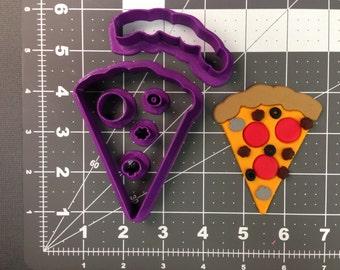 Pizza Cookie Cutter Set