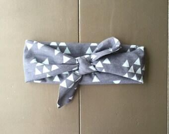 Mint Triangle Arrow Headband