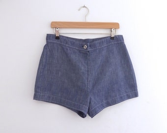 Vintage 1970's St Michael High Waisted Shorts, Womens