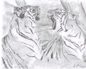 Custom Animal Sketches, Portraits, and More - FREE Shipping