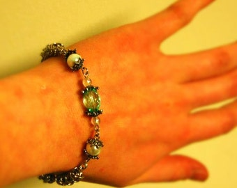 Queen of the Ocean Byzantine Chainmaille Bracelet **