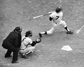 Vintage MICKEY MANTLE - 1962 World Series - New York Yankees - Reprint Photograph avail in 8x10 11x14 16x20 NY Baseball Sports Photo Picture