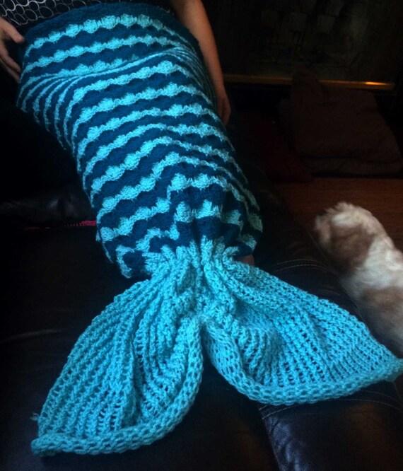 Knitting Patterns For Mermaid Tails : Mermaid Lapghan Loom Pattern