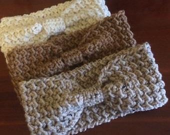 Women's Crochet Headband Ear Warmer