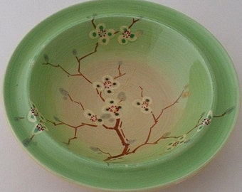 Clarice Cliff May Blossom Bowl 1930's
