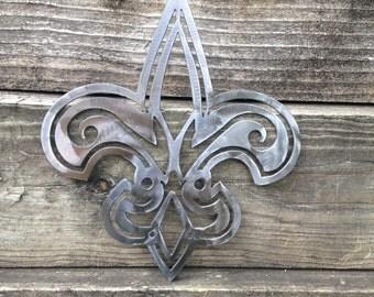 Custom Metal Art- Fleur De Lis