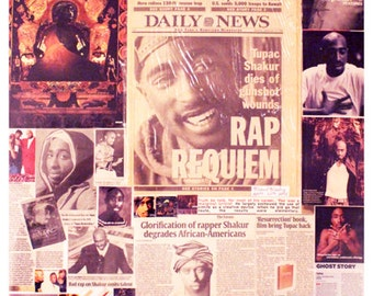 Tupac Collage has been sold
