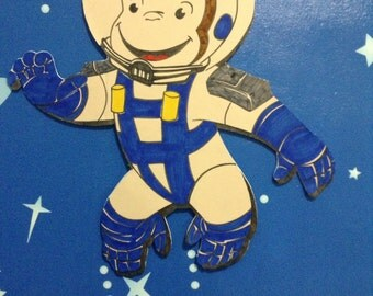 Curious George in space