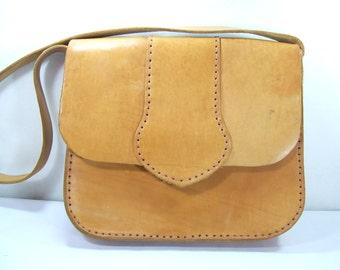 Brown Leather Bag, Leather Bag, Women Leather Bag, Leather Shoulder Bag, Vintage bag, Brown, Leather