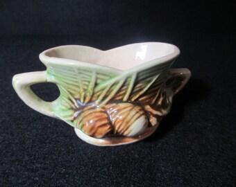 Vintage Mc Coy pottery Pine Cone Sugar