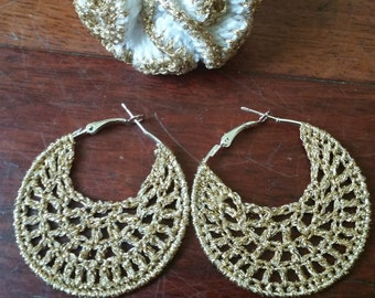 parure + ring earring with hook