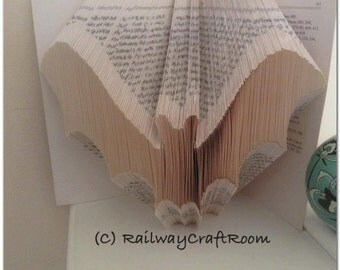 Book folding pattern Bat (1)