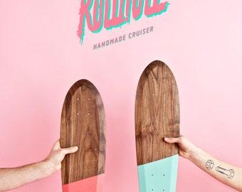 Rollholz wooden skateboard